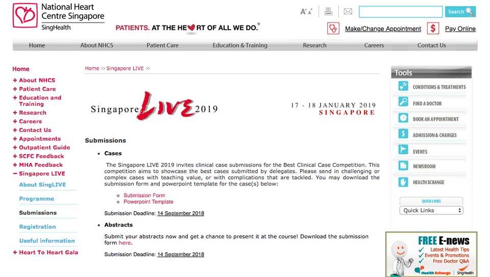 Singapore LIVE 2019