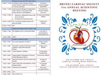Scientific Programme for the upcoming Cardiology Meeting