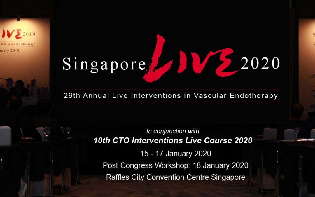Singapore Live 2020 – 29th Annual Live Interventions in Vascular Endotherapy