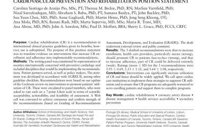 Promoting Patient Utilization of Outpatient Cardiac Rehabilitation