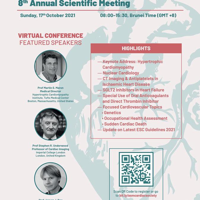Cardiac Society 8th Annual Scientific Meeting 2021